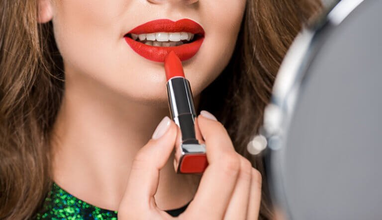 How long before a lipstick grows mold and bacteria?