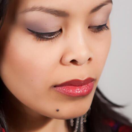 Vegan Barcelona lipstick looks great in any skin tone