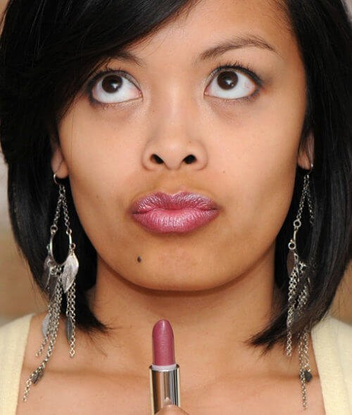 Boys N Berries Gluten Free lipstick works for any skin tones
