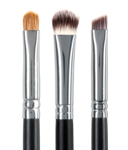 Red Apple Lipstick 3 Pro Brush Set