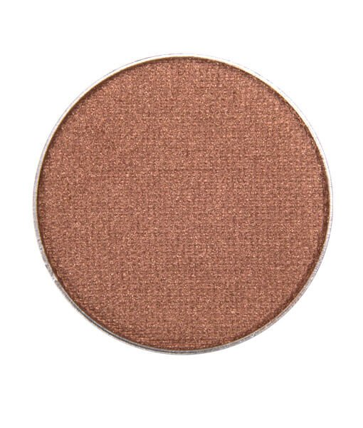 Image of Red Apple Lipstick Bronze Bombshell eyeshadow. Warm medium bronze with golden sheen