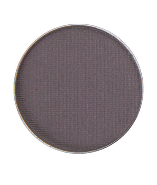 """Image of No GMOs Clean Slate eyeshadow from Red Apple Lipstick. Dark gray with a purple tint. Together with Black Magic Eyeshadow, will give you the """"vampy"""" Flapper Makeup Look"""