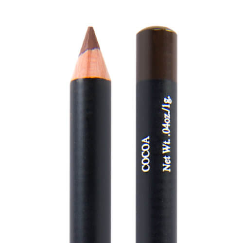 image of hypoallergenic eyeliner in the shade cocoa which is a warm medium brown
