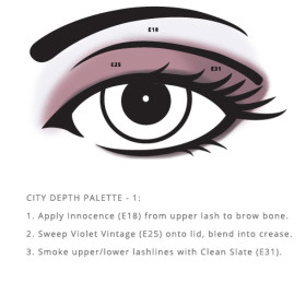 City Palette – Depth Vegan cosmetics from RAL