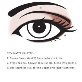 Mineral Based City Palette – Matte look