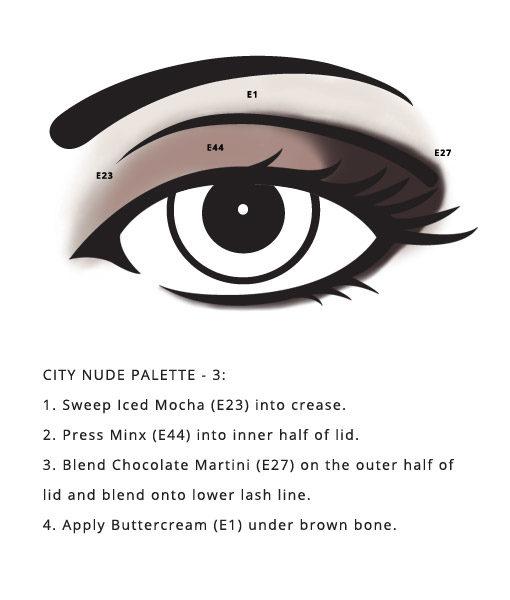 City Palette – Nude Cruelty Free neutrals