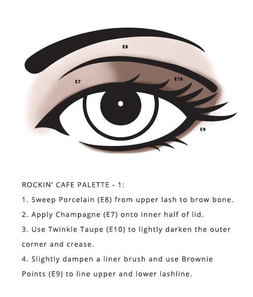 Gluten Free Rockin' Cafe Palette by Red Apple Lipstick