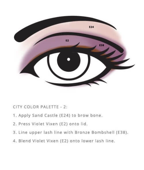 Corn Free City Palette – Color sample look