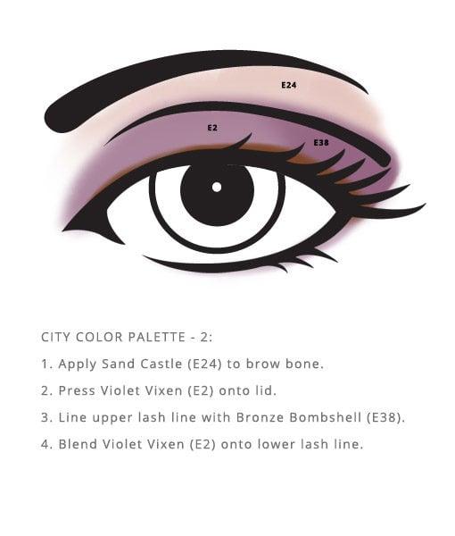Corn Free City Palette – Color sample look