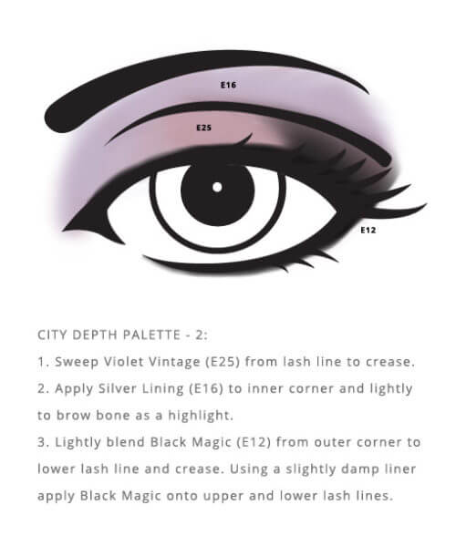 Cruelty Free City Palette – Depth utilizes grey undertones