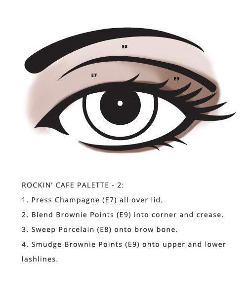 Nut Free Rockin' Cafe designed palettes
