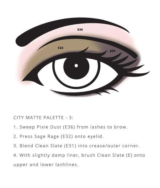 Vegan Red Apple Lipstick City Palette – Matte