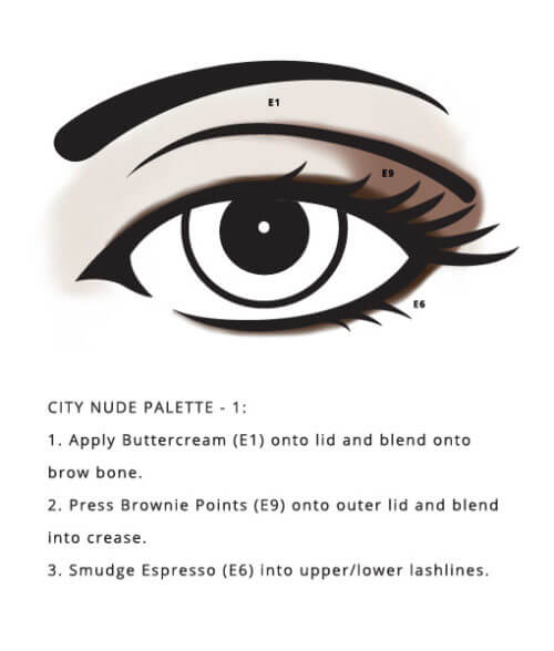 No GMOs City Palette – Nude exclusively designed by Red Apple Lipstick