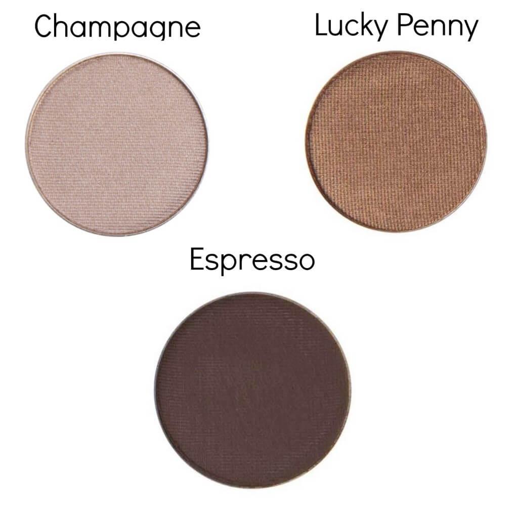 Mineral Based eyeshadows for  Dark and Super Dark skin