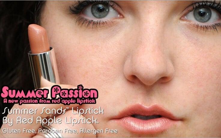 summer sands passion Mineral Based lipstick