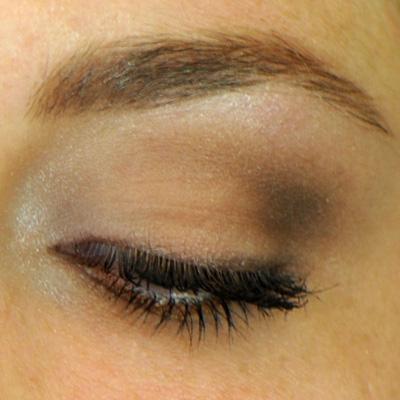 highlight in the inner corner and brow bone RAL eyeshadows