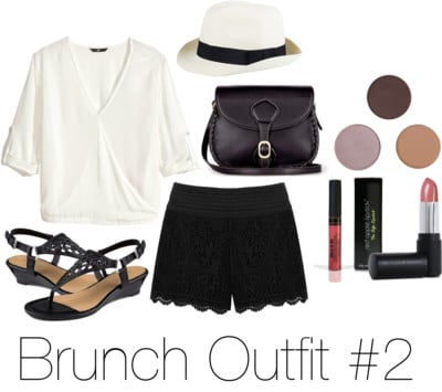 brunch outfit with safe makeup from RAL