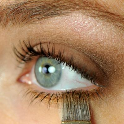 undereye eyeshadow application guide Red Apple Lipstick