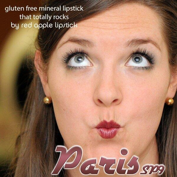 Vegan Paris makeup style
