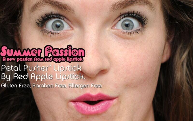 Allergen Free petal pusher lipstick