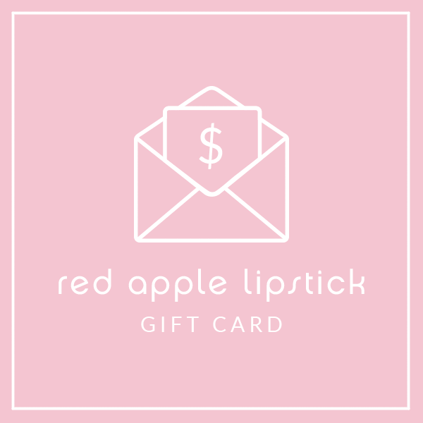 E Gift Card Red Apple Lipstick