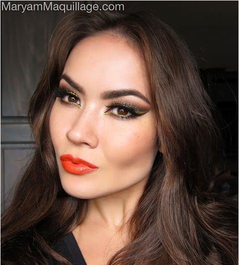 red with orange undertone Paraben Free lipstick
