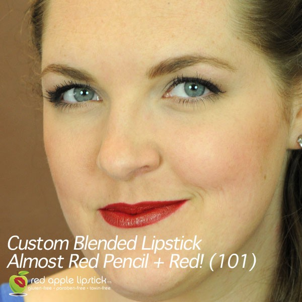 Almost Red Toxin Free lipstick