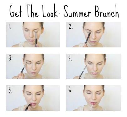 summer brunch Gluten Free makeup tips