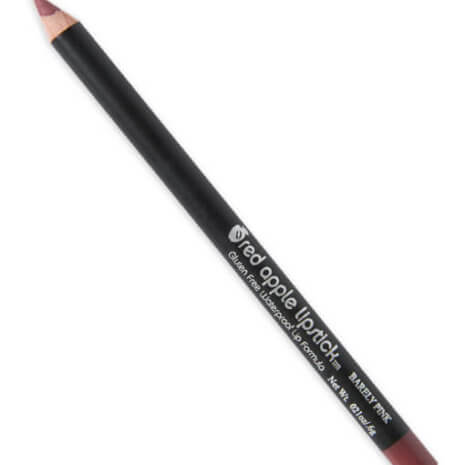 Side view Image of Barely Pink Lip Liner from Gluten Free and Cruelty Free brand Red Apple Lipstick