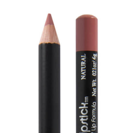 image of natural lip liner a lightly pink and brown lip liner