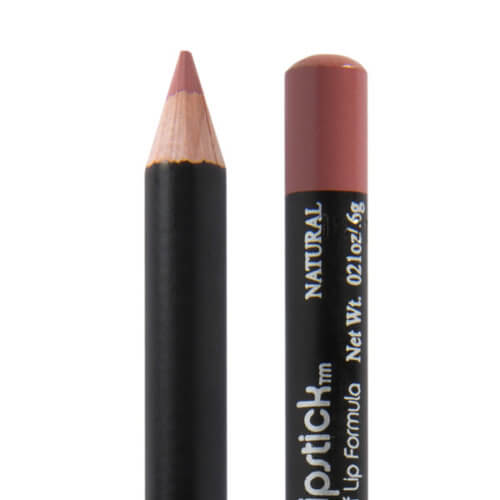 image of natural lip liner a lightly pink and brown lip liner