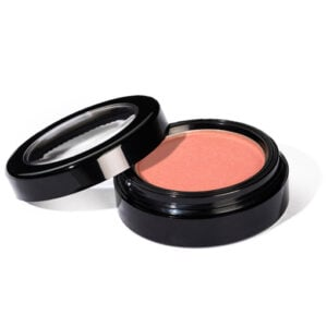 image of pinky peach blush with slight shimmer that is universally flattering