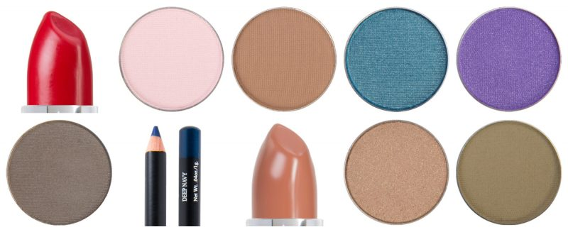 Selections of Fall Makeup Colors by Red Apple Lipstick