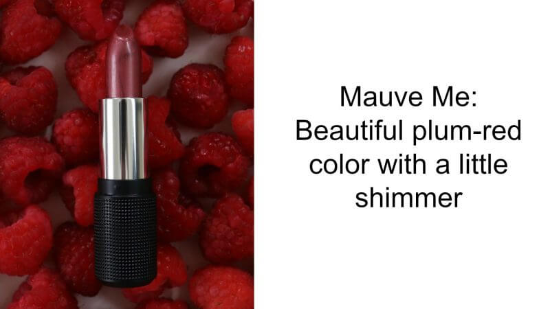 The unique finish of this lipstick instantly brightens your complexion and creates the illusion of a whiter smile.
