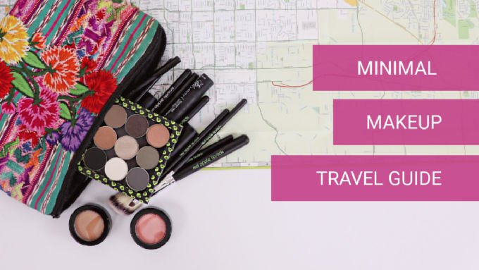 How To Pack Light: A Minimal Makeup Guide