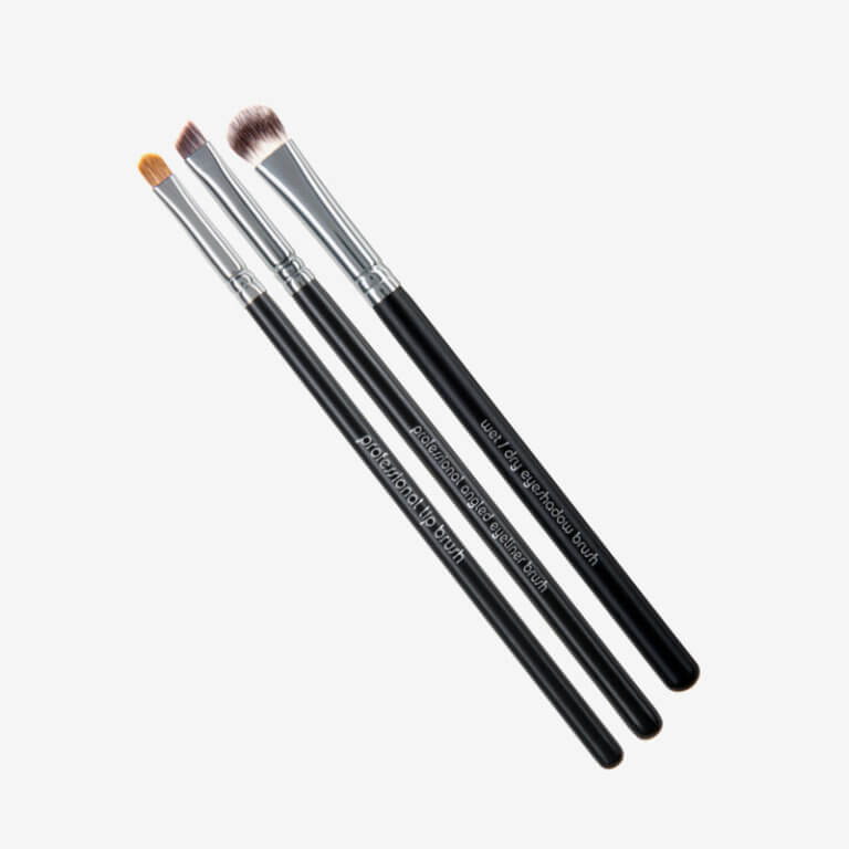 Red Apple Lipstick Pro Eye Brush Set