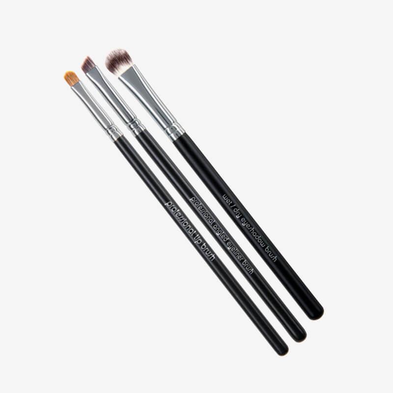 Red Apple Lipstick Pro Eye Brush Set