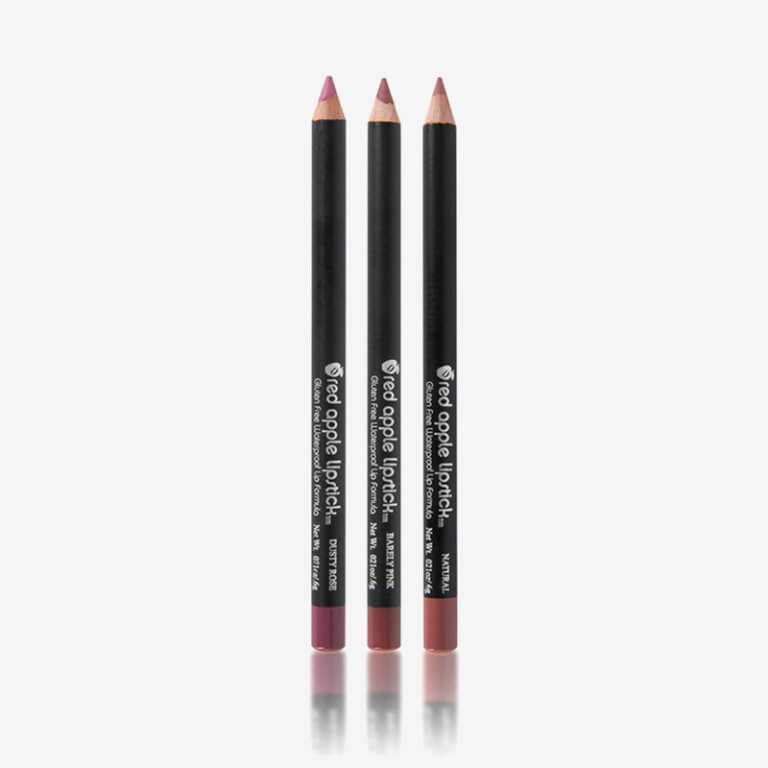 Gluten Free Lip Liners by Red Apple Lipstick