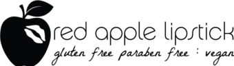 Red Apple Lipstick full logo - 180