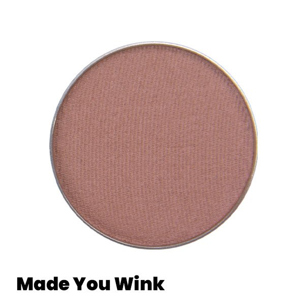 rosy taupe matte eyeshadow