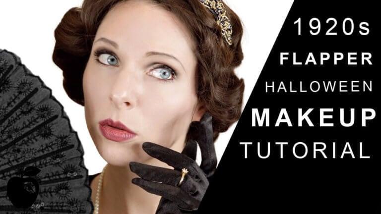 Halloween Flapper Makeup Tutorial