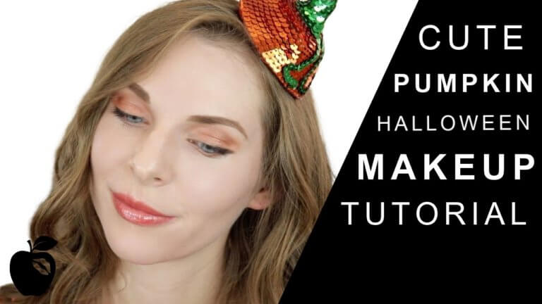 Halloween Pumpkin Makeup Tutorial