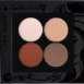 Picture of curated matte eyeshadow palette for brown eyes in a z-palette by Red Apple Lipstick