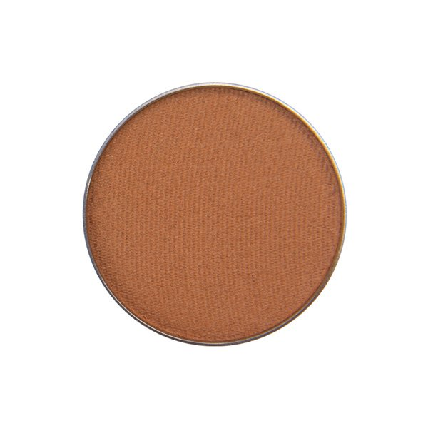 Image of Red Apple Lipstick Eye shadow in the shade called Earth Girl, This color is a warm, matte, camel brown shade
