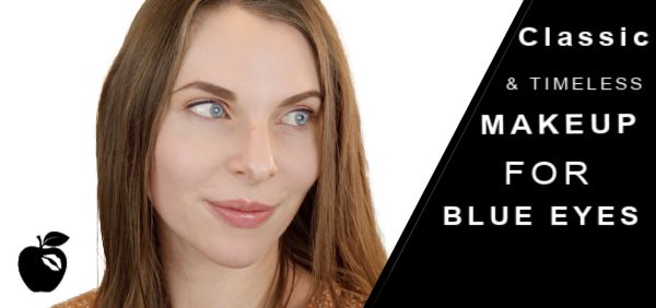 Classic and Timeless Makeup for Blue Eyes