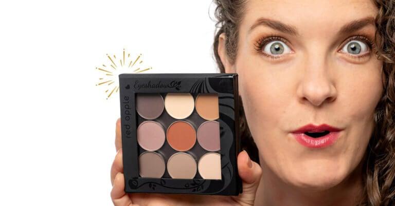 New Hypoallergenic Matte Eyeshadows Details