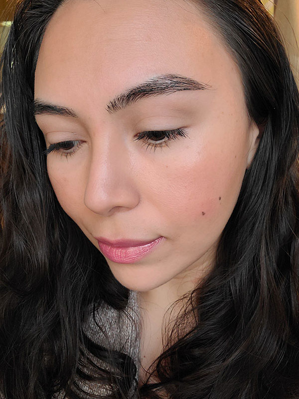 Perfect no makeup look