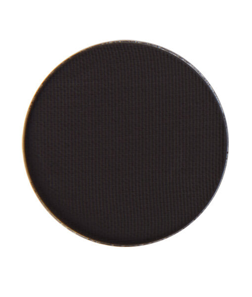 Image of eyeshadow pan in the shade called Black Magic by Red Apple Lipstick