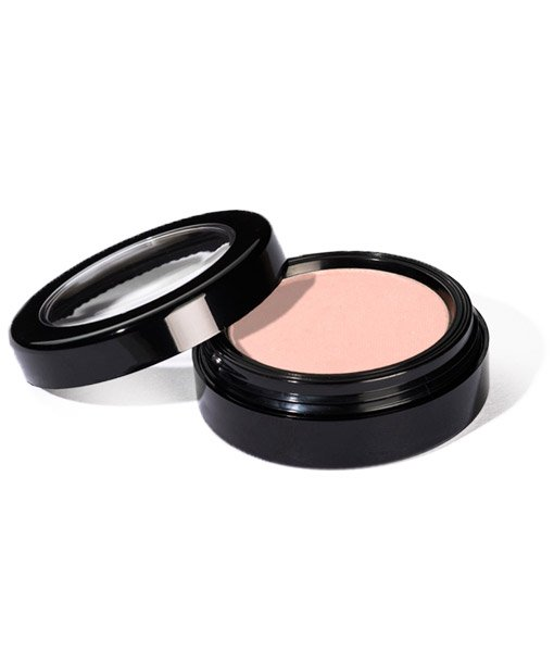 Image of Dolly Blush by Red Apple Lipstick a Matte baby pink blush shown in its pan/container