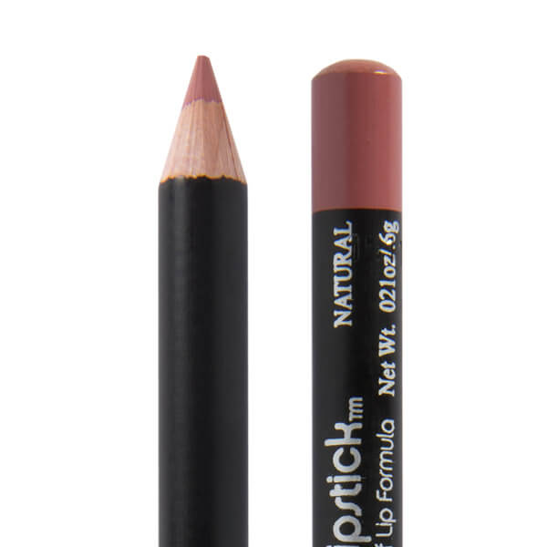 Image of Natural Lip Pencil by Red Apple Lipstick.Natural Lip Pencil will look natural on pink lips to medium brown lips. A great lip pencil for defining the edges of your lips for a flawless finish and defined pout. With a little bit of pink and a little bit of brown, this pencil will coordinate with most any lipstick because it will match your base lip color